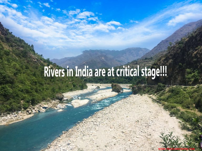 Rivers in India Are at Very Critical Stage